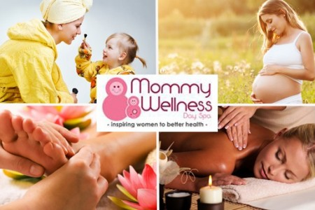 Mommy Wellness Day Spa specializes in the wellness of mothers.