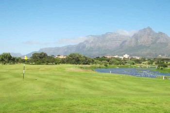 Rondebosch Golf Club is an 18-hole course with breathtaking views of Devil's Peak and Table Mountain.