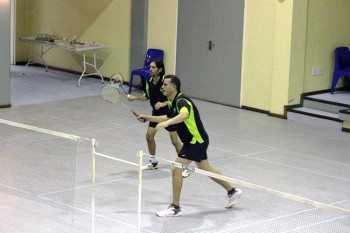 Edgemead Badminton Club has many long-term members, but the club's membership base changes from year to year.
