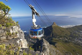 Table Mountain Aerial Cableway is an obligatory thing to do in Cape Town.
