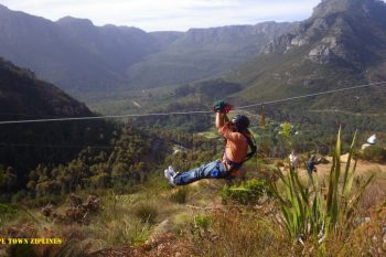 Zip Line Tour over Constantia Valley is a bucket list item.