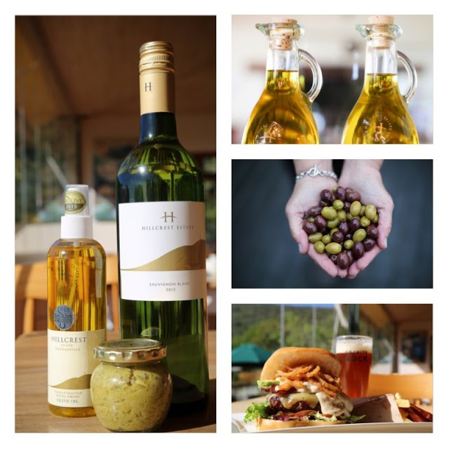 Taste Olive Oil and Wine at Hillcrest Estate